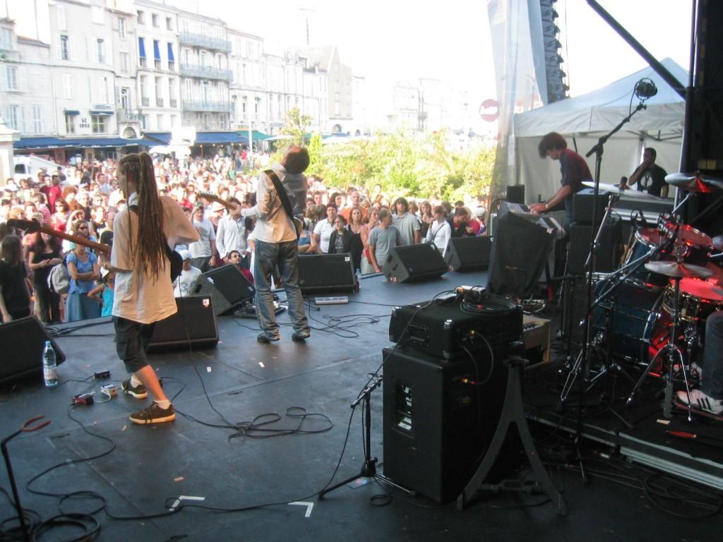 Angel Fall live Francofolies de La Rochelle