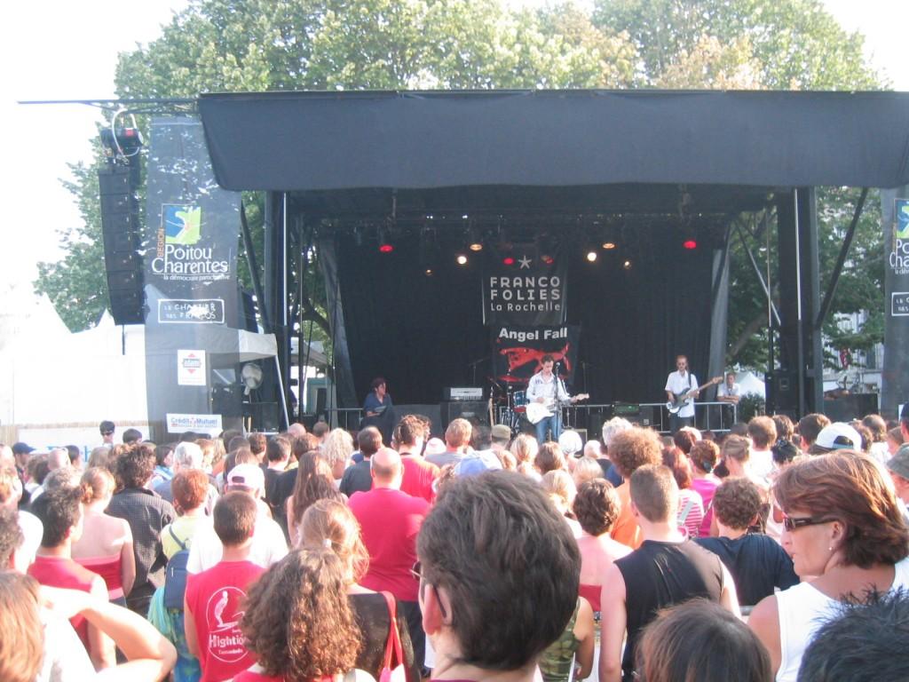 Angel Fall live aux Francofolies de La Rochelle
