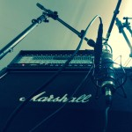 Angel Fall enregistrement guitares