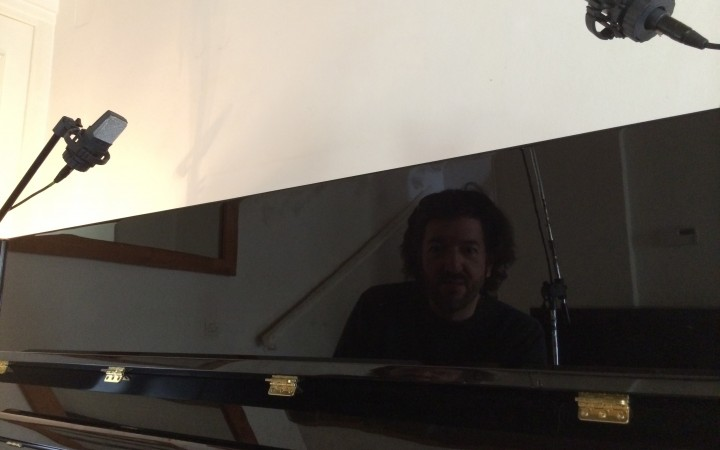 session d'enregistrement des pianos angel fall